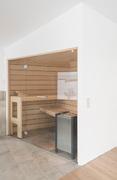 Sauna im Wohnbereich